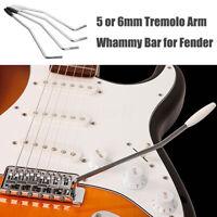 5/6mm Arm Whammy Bar Electric Pro Guitar Tremolo System Parts Fender