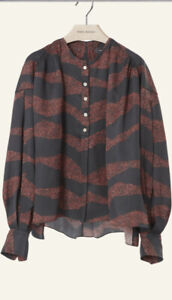 ISABEL MARANT ROSY SILK BLEND BLOUSE NEW WITH TAGS SIZE 36 RRP £570