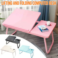 Foldable Laptop Bed Table Stand Computer Desk Sofa Lap Tray Adjustable Portable