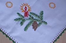 Quadratische Haushalts-Antiquitäten im Weihnachts-Stil aus Baumwolle