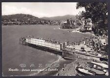 GENOVA RAPALLO 115 CASTELLO Cartolina FOTOGRAFICA viaggiata 1962