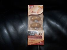 GLADE 3 OIL CANDLE REFILL CINNAMON GINGERBREAD NEW HTF