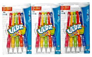 Paper Mate Vibz Mechanical #2 Pencils Super Squishy Grip #75051 15 Count