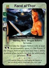 Rand al'Thor (Sword)  Wheel of Time CCG TCG Dark Prophecies NM/M