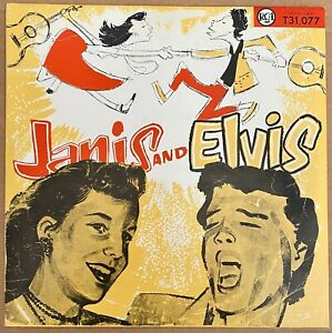"""Elvis Presley 25cm. pirate Américain """"Janis and Elvis"""" comme neuf"""