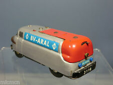 VINTAGE  SCHUCO BATTERY OPERATED VARIATO ELEKTRO OIL TANKER (BV-ARAL)