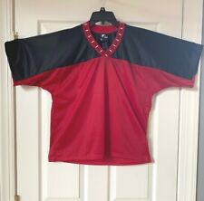 Yale Lacrosse Jersey Red And Black Adult NEW