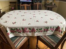 Franciscan APPLE Tablecloth Oblong! AWESOME HARD TO FIND !