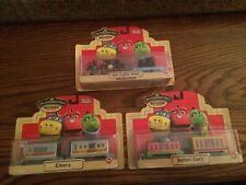 Chuggington Wood Trains Lot #405 Emery Old Ouffer Pete & Safari Cars New/Pkgs