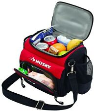 Husky 9 Inch Portable Lunch Box Hot Cold Cooler Insulated Work Picnic Travel Bag