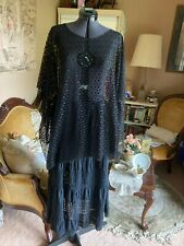 Renaissance/Medieval 2pc Peasant Skirt Net Cover-up Top Costume Beach Cruise 3X