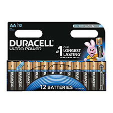 12 Duracell AA Ultra Power M3 LR6 MX1500 Battery 1.5V Alkaline Pack