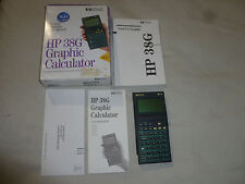 BOXED VINTAGE HP HEWLETT PACKARD 38G GRAPHIC CALCULATOR W GUIDE 38 G WORKS 1995