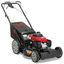 Troy-Bilt Self Propelled Lawn Mower 21 in. 160 cc High Rear Wheels (3-in-1)