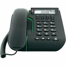 Phone wireless with voice mail automatic Integrated Keys Big Black