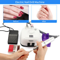 35000RPM Manicure Pedicure Machine Electric Nail Drill Bits Set Nail Art Tools