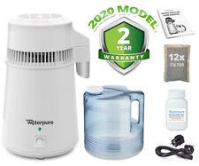 TPU TE distillatore d'acqua, acciaio inox, Poly caraffa, 2020 modello fare ACQUA PURA