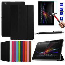 Tablet Folio Slim Leather Case Stand Cover For Sony Xperia Z3 Compact Tablet 8.0