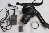 Canon EOS 400D 10MP Digital-SLR DSLR Camera with EF-S 18-55mm Lens - BLACK CHEAP