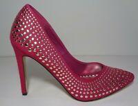 Betsey Johnson Size 9.5 M FAAWNN Fuchsia Pink Heels Pumps New Womens Shoes