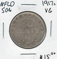 Canada Newfoundland NFLD 1917c 50 Cents VG Lot#3