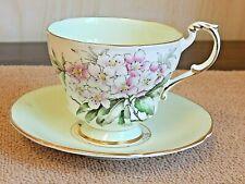 Antique/Vintage Paragon English Fine Bone China Porcelain Footed Tea Cup &Saucer