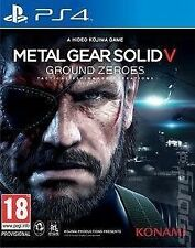 Metal Gear Solid V 5 ground zeroes ps4 NEW SEALED UK PAL Game Sony Playstation 4