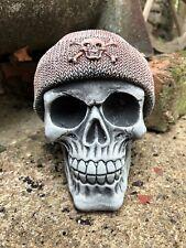 Beanie hat skull stone garden ornament thug life skull skeleton head
