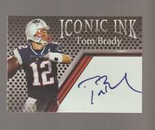 Iconic Ink Tom Brady FACSIMILE REPRINT card, New England Patriots