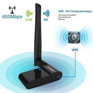 EDUP 600Mbps Dual Band Wireless 11AC USB Ethernet Adapter with 2dBi Antenna 1635