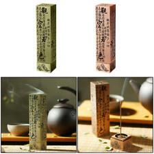 Hollow Incense Tower Joss Stick Cone Holder Handmade Carved Burner Vintage