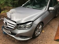 2014 64 MERCEDES 2.1 HYBRID AUTOMATIC E300 E CLASS DAMAGED SALVAGE REPAIRABLE