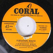 50'S Coral Nos 45 Lawrence Welk - Flirtation Waltz / Meet Mister Callaghan On Co