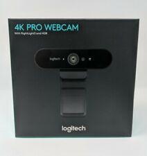 Logitech Brio 4K Ultra HD Pro Webcam  960-001178 Black - ⭐️ IN HAND - Ships Fast