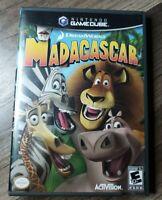 Nintendo Gamecube Madagascar Game Complete CIB TESTED FREE SHIPPING