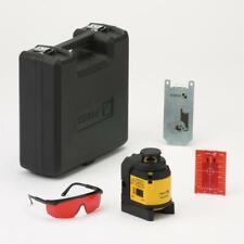 Stabila Multilinien Laser LAX 400 Laserbrille Zielplatte Wandhalterung Koffer