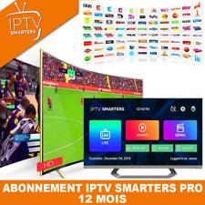 IP*TV Smarters Pro Abonnement 12 mois(✔️M3U✔️SMART TV✔️ANDROID✔️MAG) 🔥Telefoot