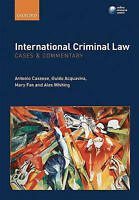 International Criminal Law: Cases and Commentary by Cassese, Antonio (Former Pre