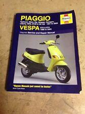 Piaggio (Vespa) Scooter assistenza e riparazione manuale: da 1991 a 2004 da Matthew COOM