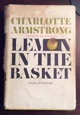 Lemon In The Basket (1967, Hardcover) Charlotte Armstrong PreOwnedBook.com