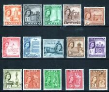 Elizabeth II (1952-Now) Mint Never Hinged/MNH Maltese Colony Stamps (Pre-1964)