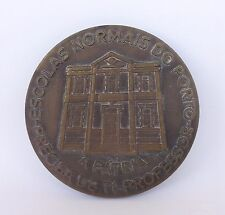 """I CENTENARY OF THE SCHOOL OF THE PRIMARY MAGISTRY OF OPORTO "" BRONZE MEDAL"