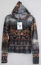 SPY ZONE EXCHANGE BOUTIQUE WOMENS HANDCRAFTED HOODIE CELEBRITY SOFT XSMALL 3862