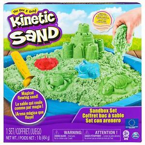 Kinetic Sand Box Set - Magic Play Sand Castle & Moulds 6024397