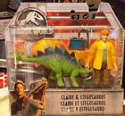 Jurassic World Claire and Stegosaurus 3.75 Figure