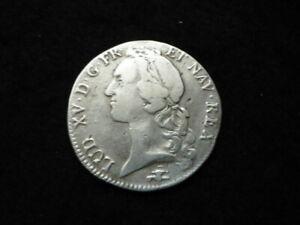 Ecu au bandeau Louis XV 1763 D