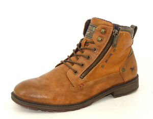 MUSTANG Schuhe Stiefel Boots Herrenstiefel Winterstiefel Braun Gr. 45