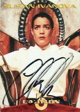 BABYLON 5 1996 Autograph #3 Base Card!!! CLAUDIA CHRISTIAN #1