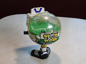 Vtg Sports Shootin' Soccer Mechanical Handheld 3D Game Innoland Inc Rare Pinball