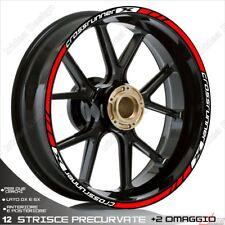 Trims Stickers Sport Wheel Wheel Honda VFR 800 x Crossrunner Red White
